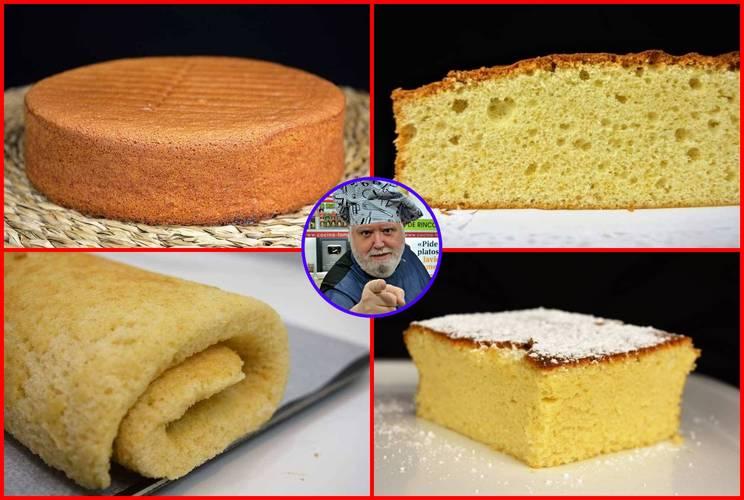 Los mejores bizcochos para hacer tartas