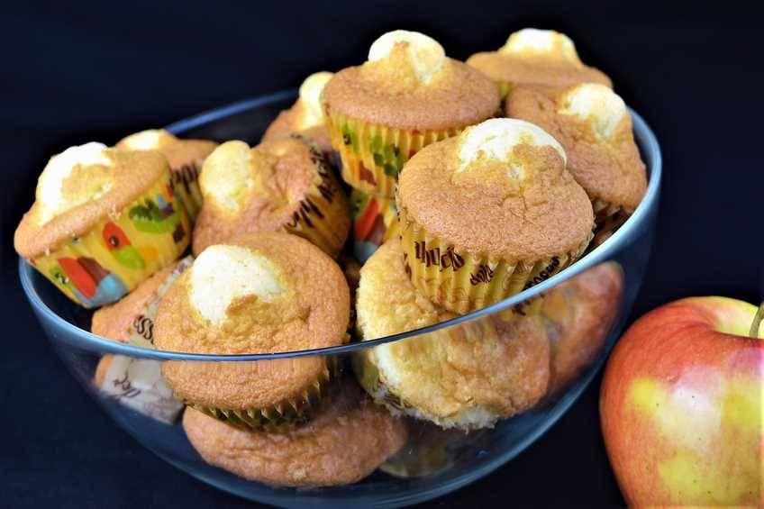 Cómo hacer magdalenas caseras de manzana