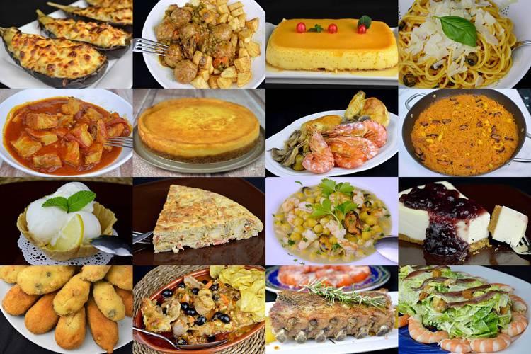 Menú semanal para toda la familia, recetas caseras