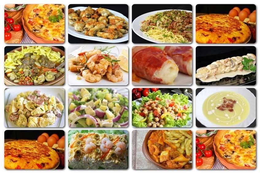 Recetas colombianas menu diario