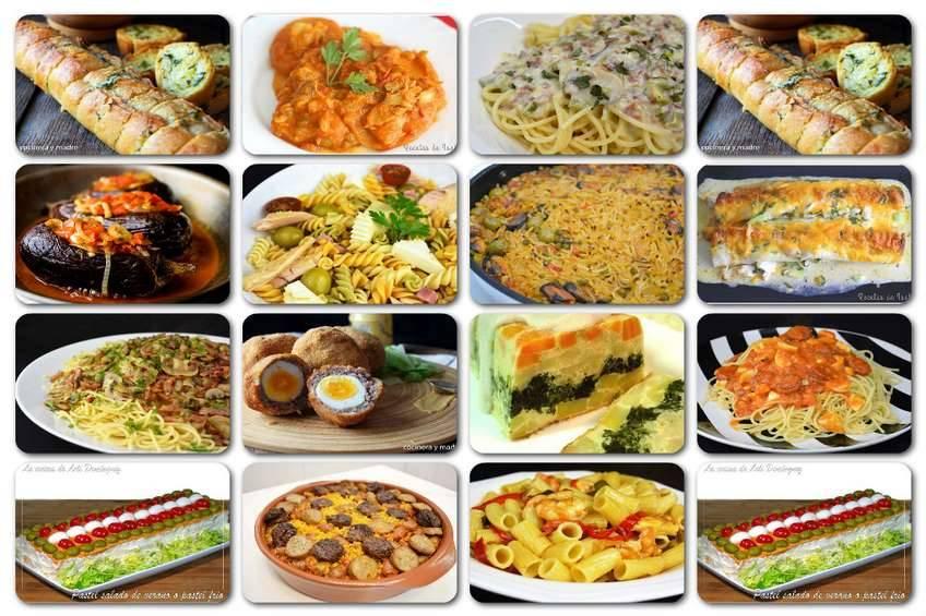plan de comidas fácil de 1 semana