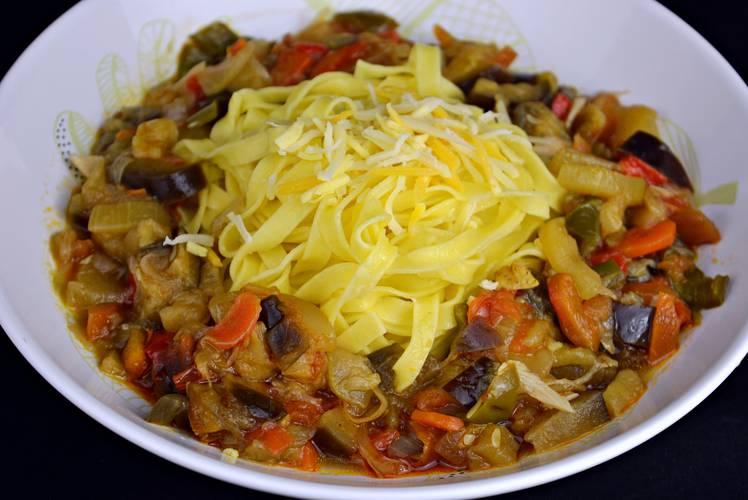 Cocinar pasta para dieta