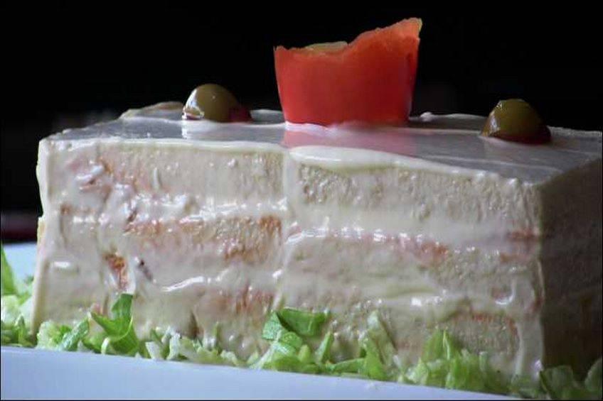 Pastel de Atún con tomate