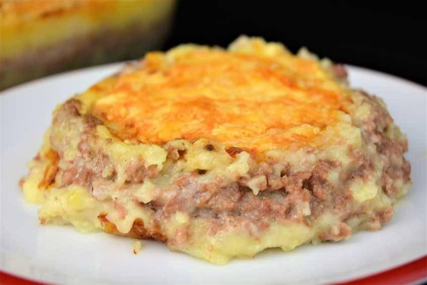 Pastel de carne, receta casera