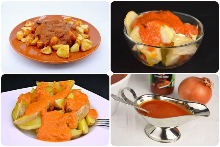 Patatas bravas y sus variantes