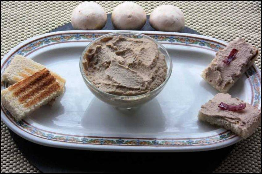 Paté de champiñones