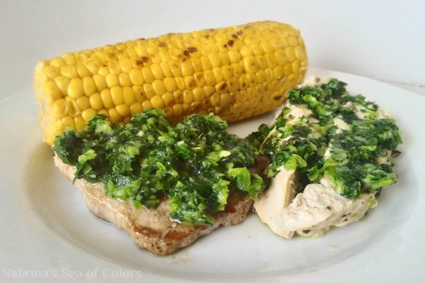 Plato mixto de carne y pollo