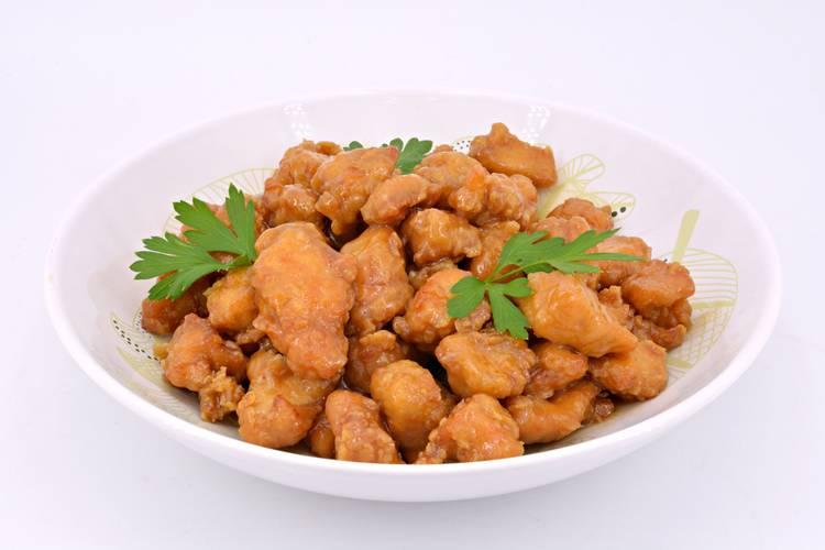 Pollo a la miel, receta de los restaurantes chinos