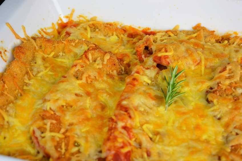 Receta de pollo a la parmesana, cocina italiana