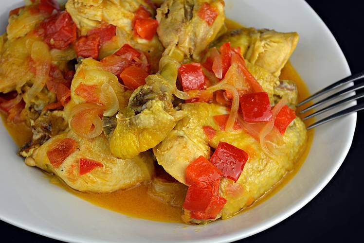 Receta de pollo al chilindrón, receta riojana