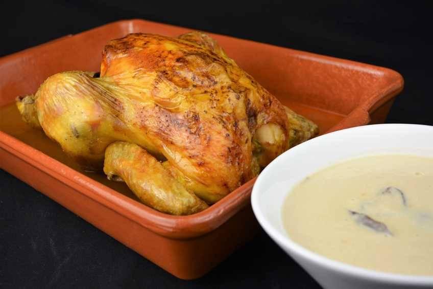 Receta de pollo Strogonoff, pollo asado con sabor diferente