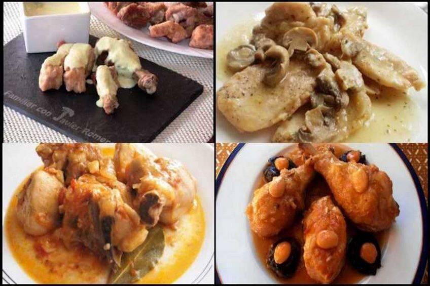 Pollo en salsa, recetas caseras