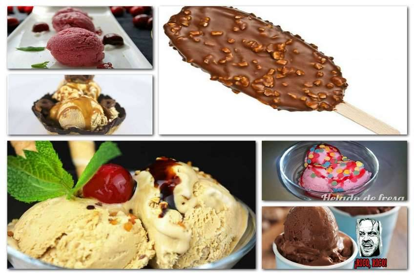 Postres helados, en la variedad está el gusto