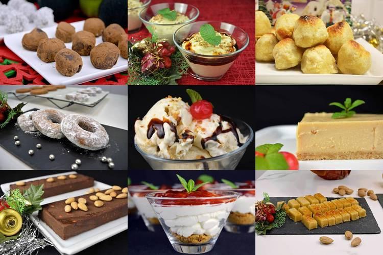 Postres para Navidad, 16 recetas fáciles