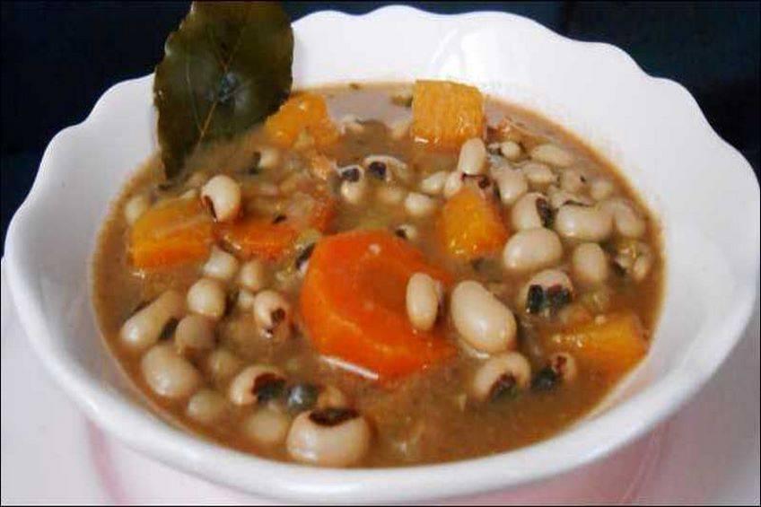 Potaje de alubias con verduras, Chicharos
