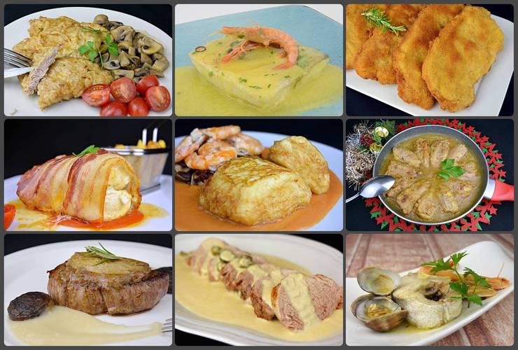 Que pongo de comer para segundo plato, recetas para toda la semana