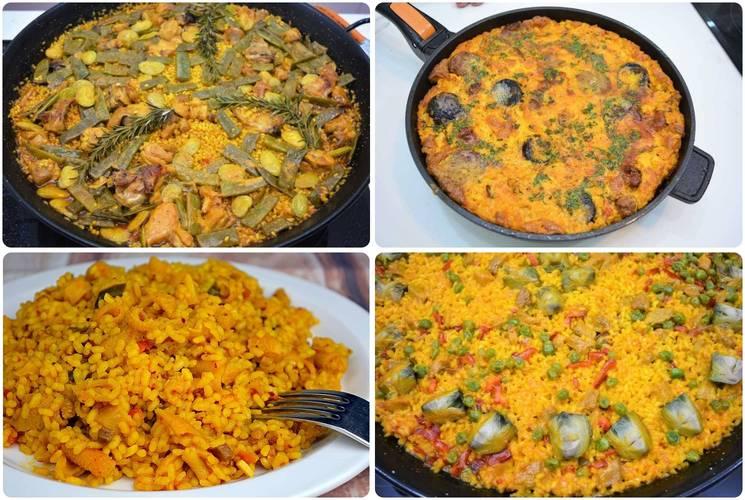 Recetas de arroz en paella y en cazuela para todos los gustos