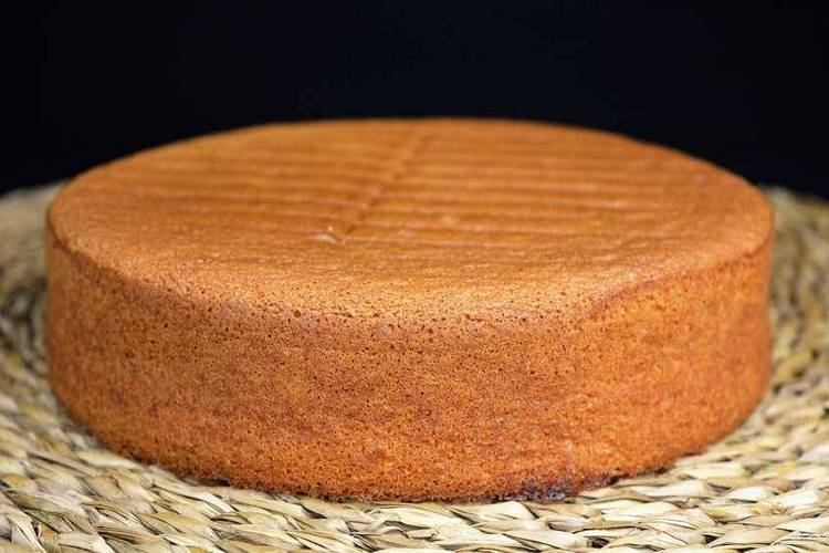 Recetas de bizcocho para tartas