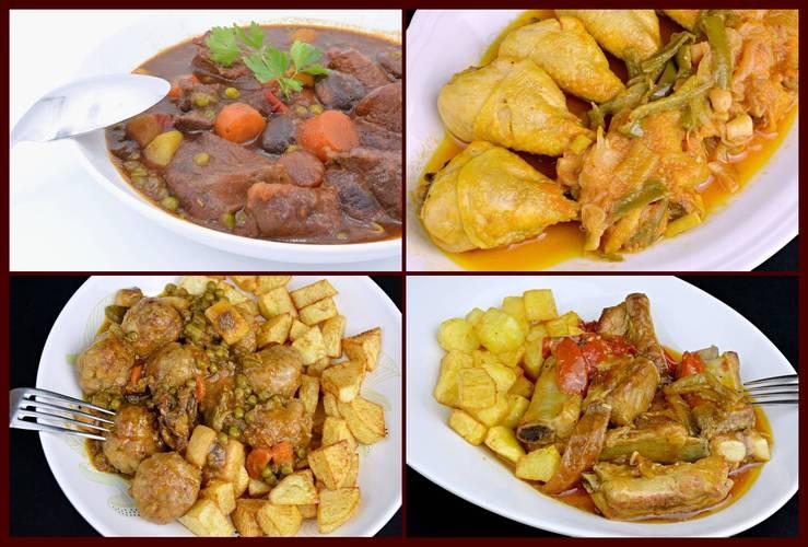 Recetas de carne y aves fáciles para segundo plato