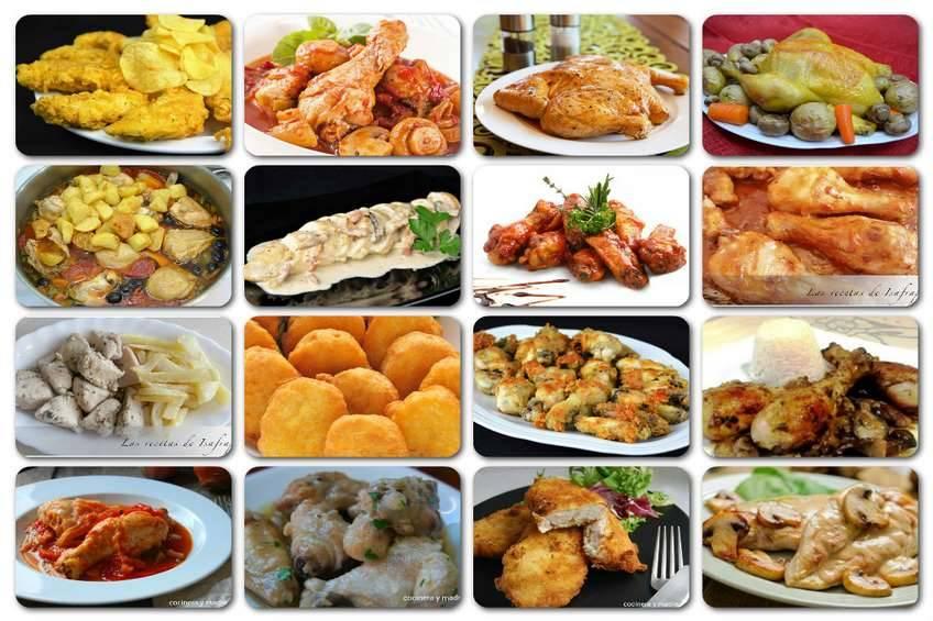 maneras de preparar pollo facil