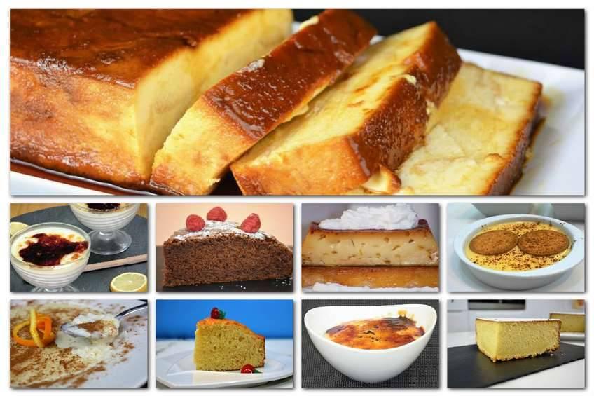 Recetas de cocina postres videos
