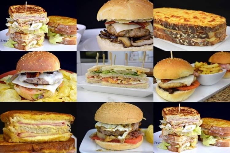 9 recetas de sándwiches y hamburguesas para cenar