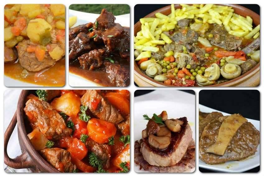 Recetas de ternera guisada, estofados diferentes