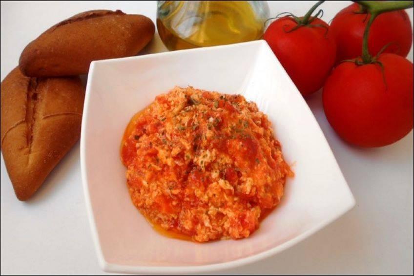 Revuelto de Tomates