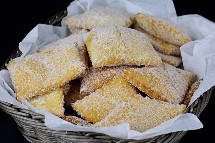 Rosquillas de pueblo, receta casera