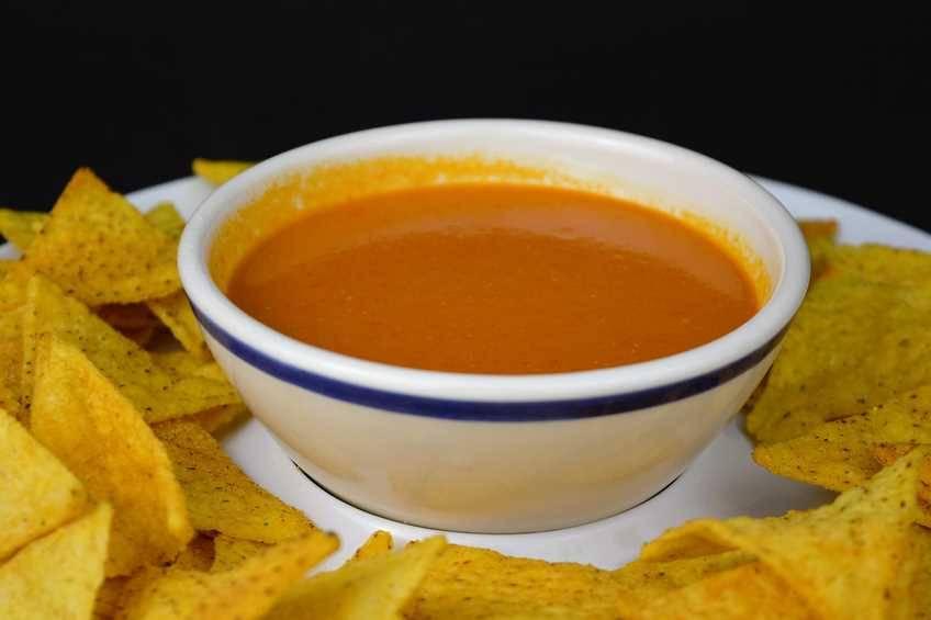 Salsa para nachos, receta casera