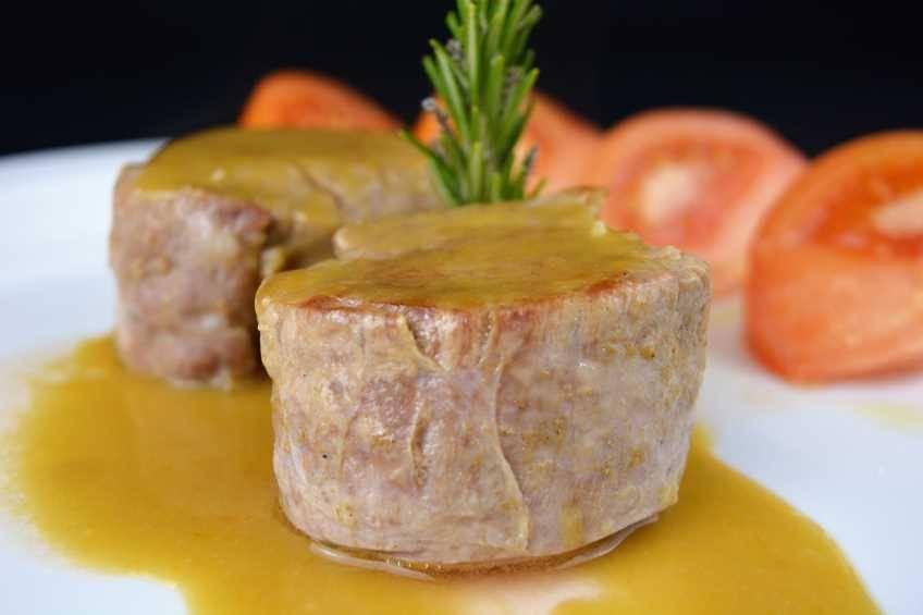 Solomillo de cerdo con salsa de Pedro Ximénez