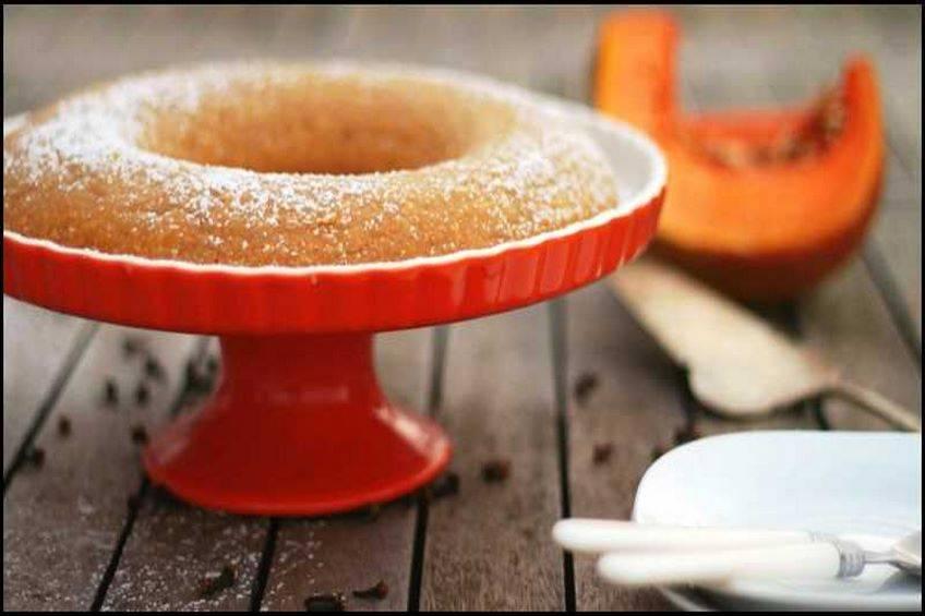 Tarta de calabaza cremosa
