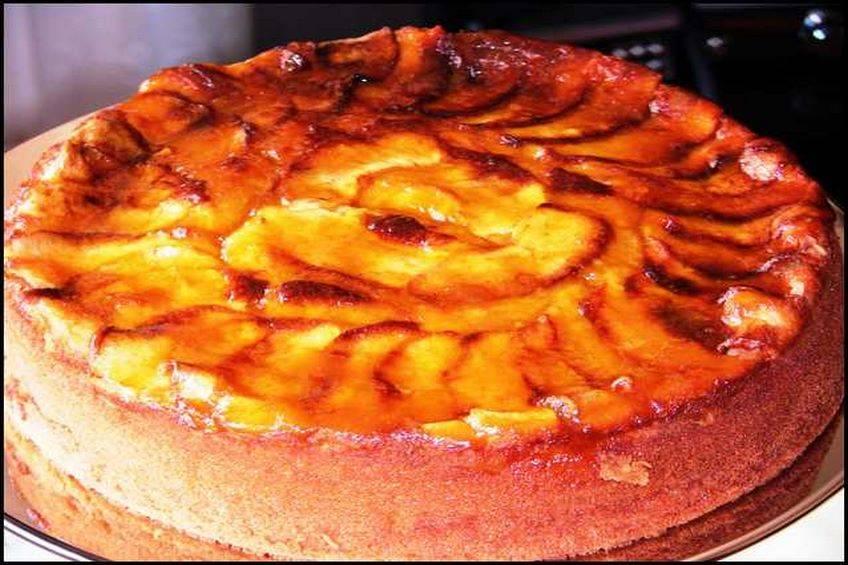 Tarta de manzana apta para celíacos