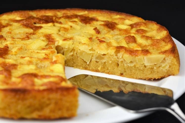 Receta para hacer una tarta de manzana francesa