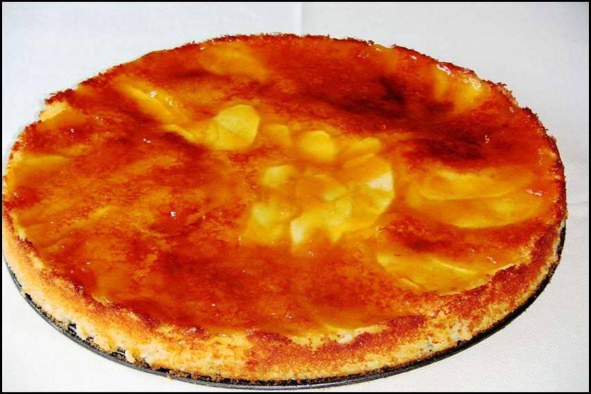 Tarta de manzana imperfecta