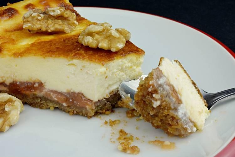 Tarta de queso al horno Javier Romero