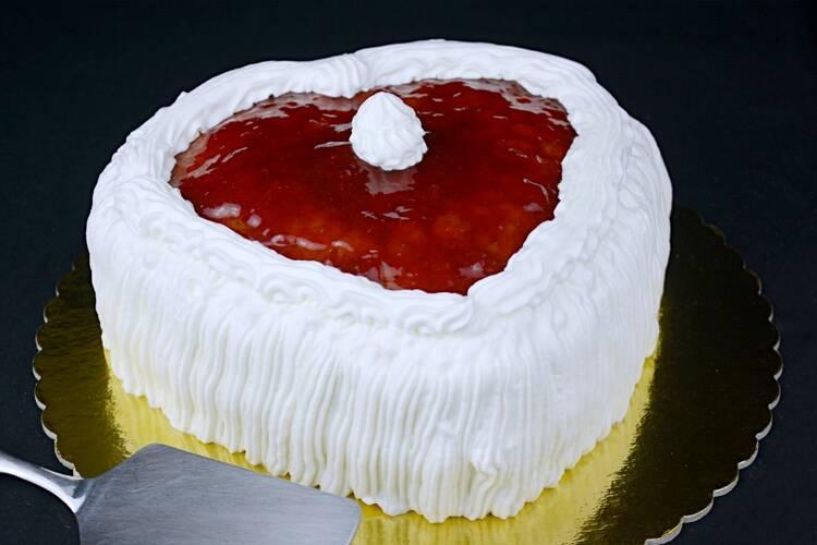 Tarta para San Valentín, receta casera