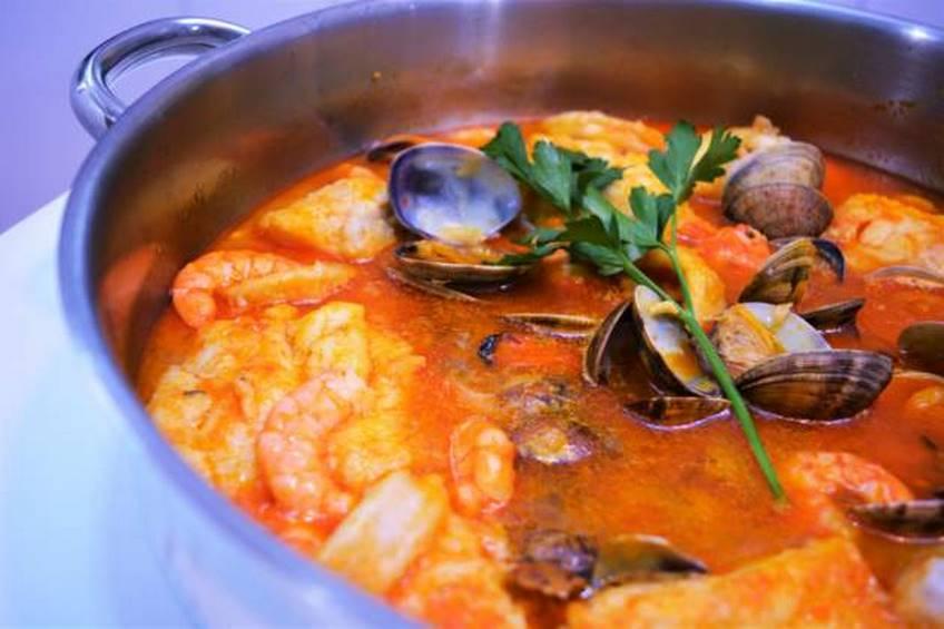 Zarzuela de pescado y marisco for Grado medio cocina y gastronomia